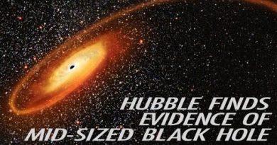 Астрономы обнаружили новые свидетельства существования черных дыр средней массы