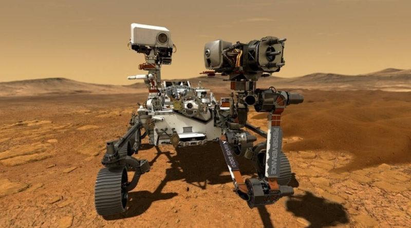 Марсоход Perseverance успешно совершил посадку на Красную планету