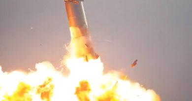Starship совершил первую удачную посадку на испытаниях, но взорвался