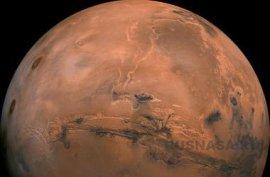 На Марсе обнаружены следы грязи.