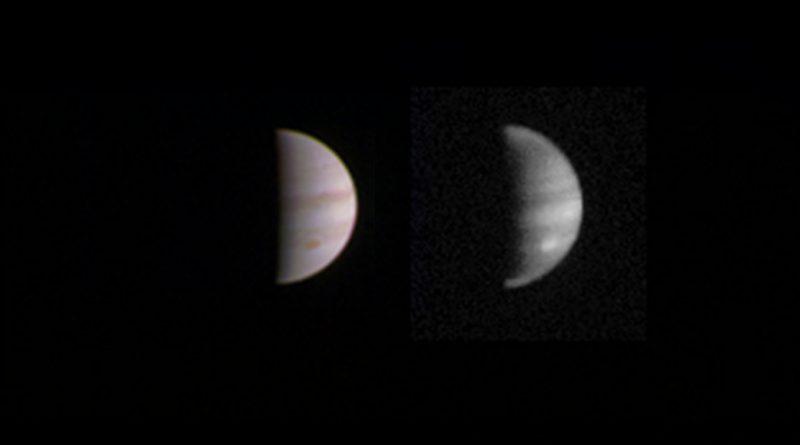 «Юнона» максимально приблизится к Юпитеру в эту субботу