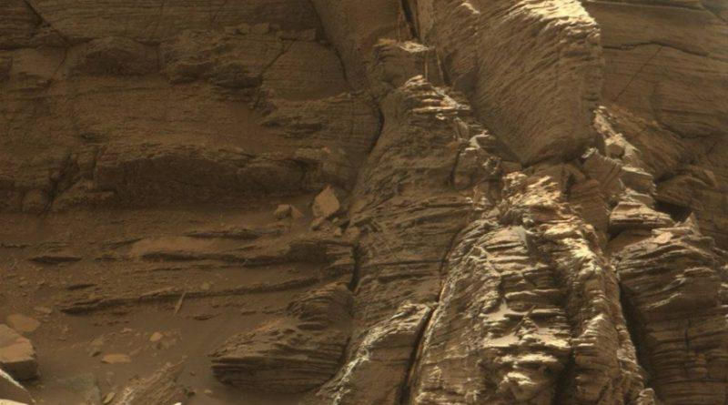 Mars curiosity rover mastcam