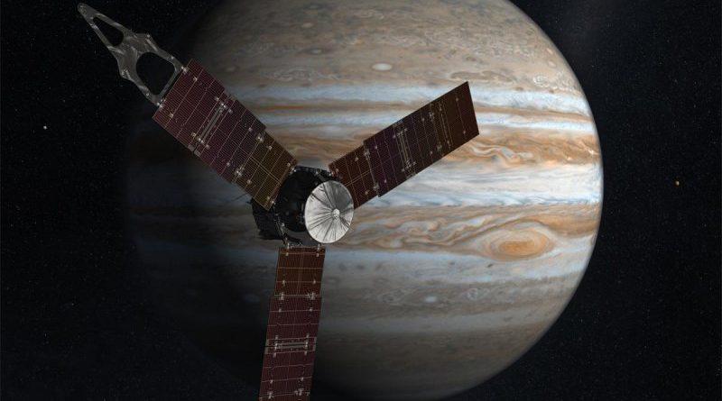 NASA: Зонд Juno отключил бортовые приборы
