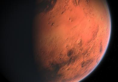 В NASA рассказали об активности одного из высочайших вулканов Марса
