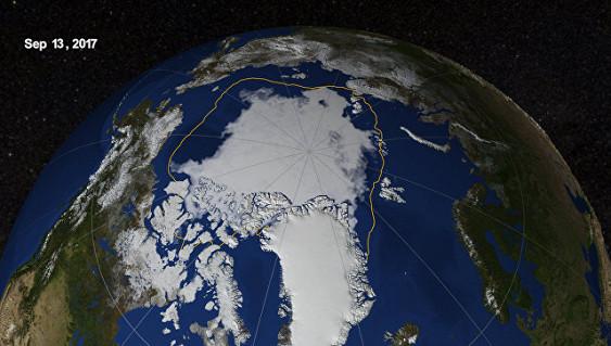 НАСА: сокращение льдов Арктики летом достигло рекордных значений