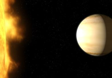 Астрономы НАСА нашли планету с «водной» атмосферой