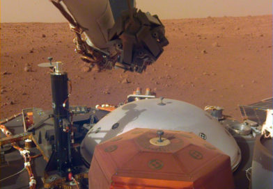 InSight прислал первое селфи с поверхности Марса