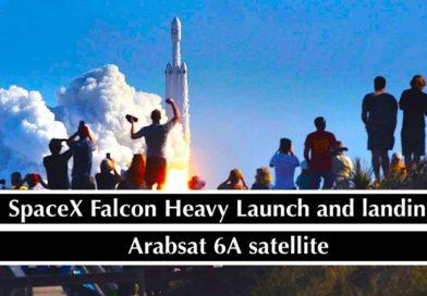 Блок первой ступени Falcon Heavy смыло в океан из-за шторма